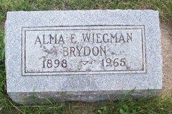 Alma E. <i>Rehm Wiegman</i> Brydon