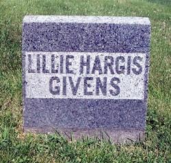 Lillie Misiniah <i>Hargis</i> Givens