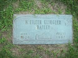 M Ellen <i>Klingler</i> Bailey
