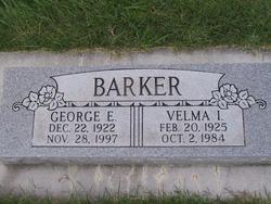 Velma Irene <i>Gray</i> Barker