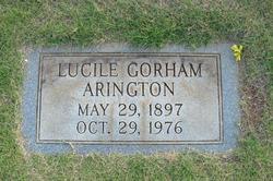 Lucile <i>Gorham</i> Arington