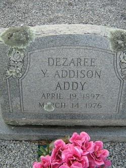 Eva Dezaree <i>Young Addison</i> Addy