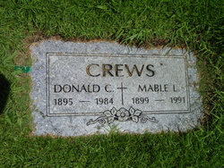 Mable Leona <i>Walter</i> Crews