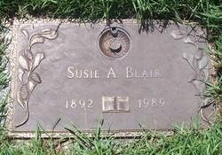 Susie A <i>Doven</i> Blair