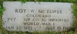 Roy William McElwee