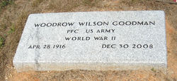 PFC Woodrow Wilson Goodman