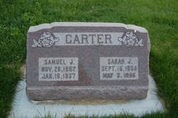 Sarah Jane <i>Adams</i> Carter