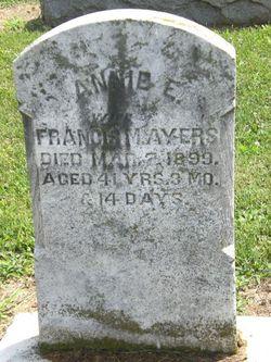 Annie E. Ayers