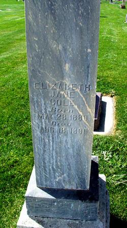 Elizabeth Jane Cole