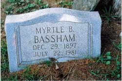 Myrtle Cornelia <i>Brackeen</i> Bassham