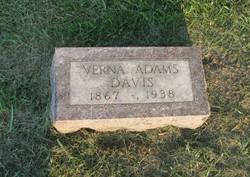 Verna <i>Adams</i> Davis