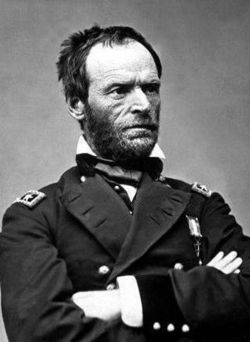 Gen William Tecumseh Sherman