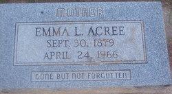 Emma L <i>Lawson</i> Acree