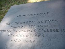 Rev Seaborn Cotton