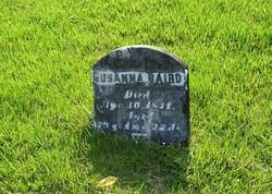 Susanna <i>Blodgett</i> Baird