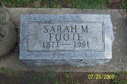 Sarah M Foote