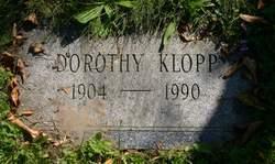 Dorothy <i>Klopp</i> Klopp