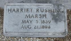 Harriet <i>Rushing</i> Marsh