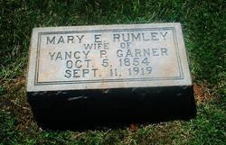 Mary E. <i>Rumley</i> Garner