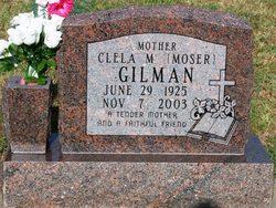 Clela M. <i>Moser</i> Gilman