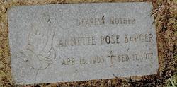 Annette Rose <i>Beecher</i> Barger