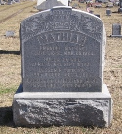 Sarah <i>Mathias</i> Beck