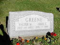 Walter Marion Greene