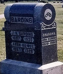 Anna Grandma <i>Edwards</i> Barding