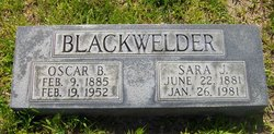 Sara J. <i>Smith</i> Blackwelder