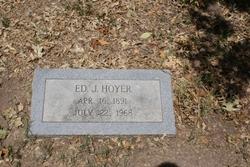 Edward Julius Ed Hoyer