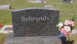 Alice E. <i>Durdel</i> Behrends