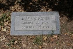 Jessie W. Hoyer