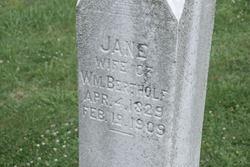 Jane <i>Hill</i> Bertholf