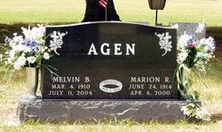 Marion Ruth <i>Elmer</i> Agen