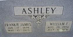Frankie <i>James</i> Ashley