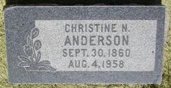Christine Marie <i>Nielsen</i> Anderson