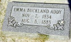 Emma <i>Buckland</i> Addy