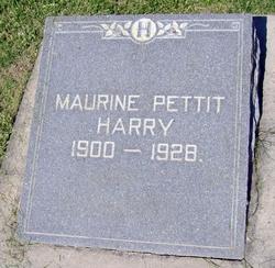 Maurine <i>Pettit</i> Harry