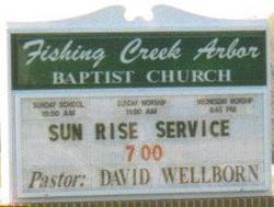 Fishing Creek Arbor Baptist Church Cemetery