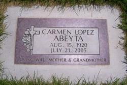 Carmen <i>Lopez</i> Abeyta