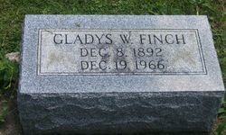 Gladys W <i>Warner</i> Finch