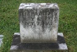 Bertha Mae <i>Adams</i> Ashby