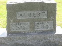 Marion <i>Green</i> Albert