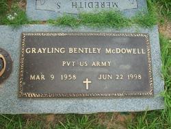 Pvt Grayling Bentley McDowell