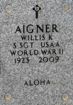 Willis Kenneth Will Aigner