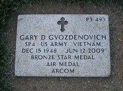 Gary D Gvozdenovich