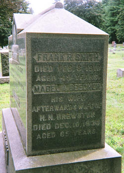 Mabel A <i>Beecher</i> Brewster