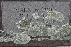 Mark w Pope