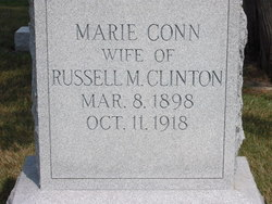 Marie <i>Conn</i> Clinton