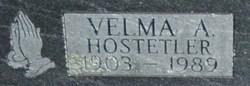 Velma Alger <i>Nelson</i> Hostetler